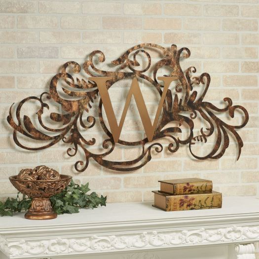 Evanston Monogram Wall Art Sign