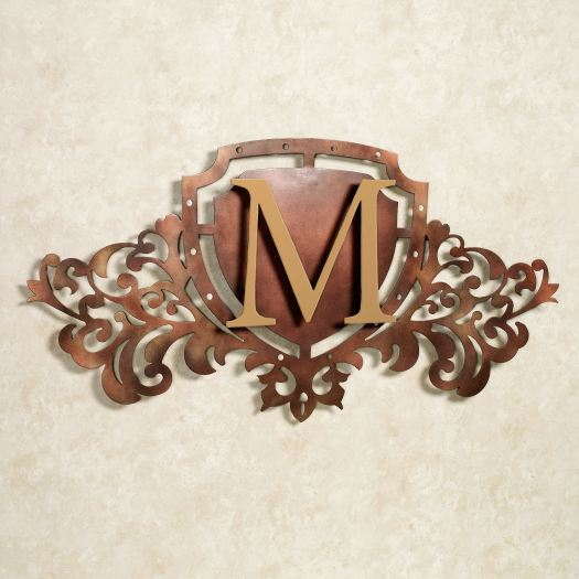 Generations Monogram Crest Metal Wall Art Sign