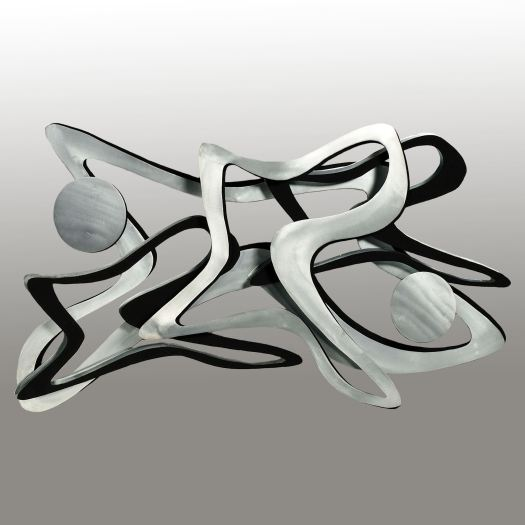 Rave Modern Metal Wall Sculpture