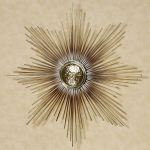 Radiance Sun Metal Wall Sculpture