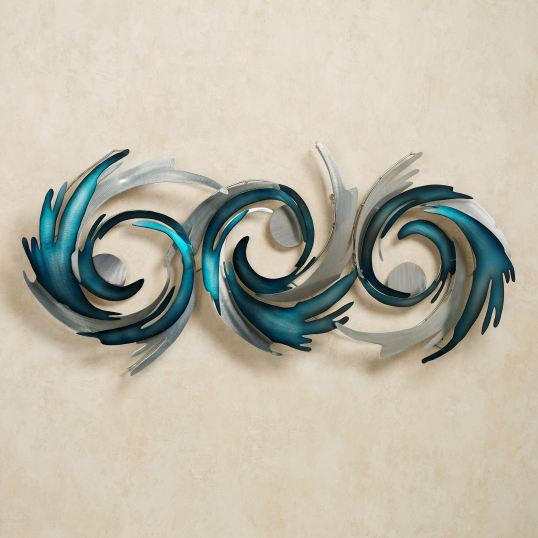 Perfect Storm Metal Wall Sculpture