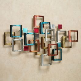 Retro Modo Metal Wall Sculpture