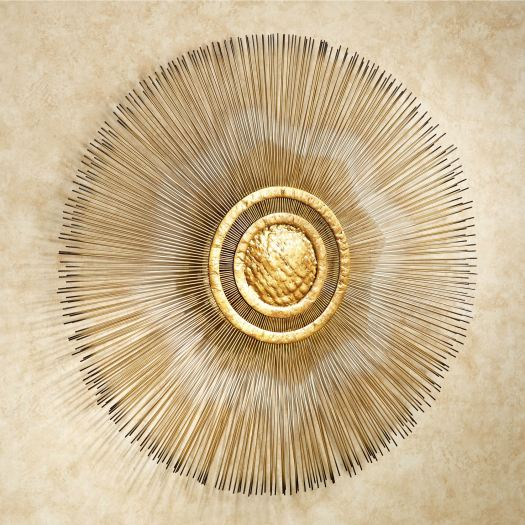 Sunburst Metal Wall Sculpture
