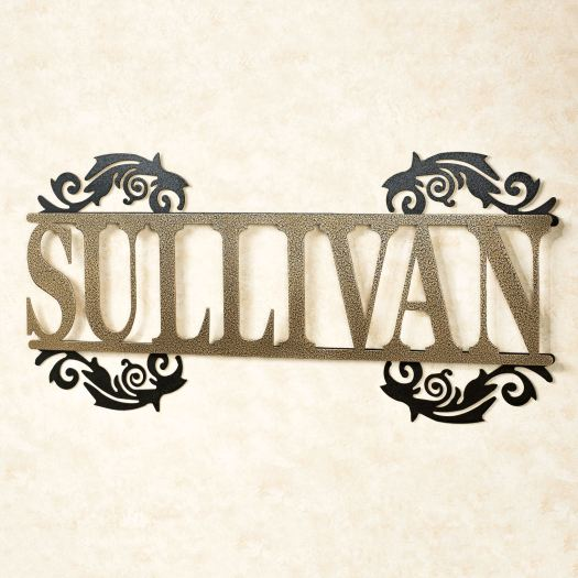 Legacy Personalized Metal Wall Art Sign