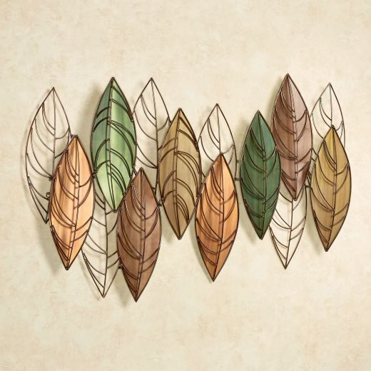 Nature's Decree Leaves Metal Wall Sculpture