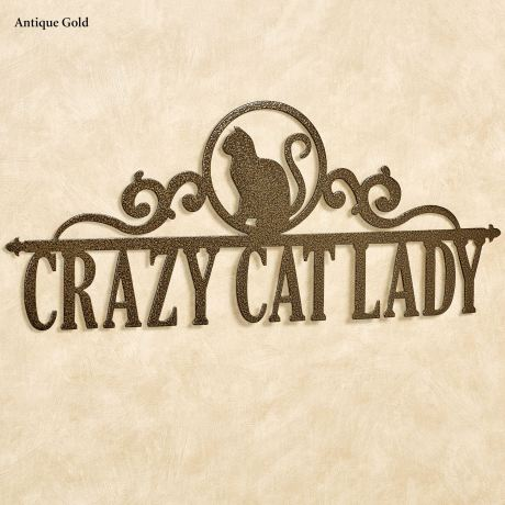 Occasions Cat Personalized Metal Wall Art Sign