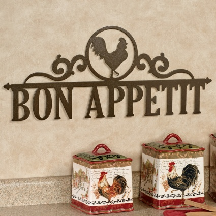 Occasions Rooster Personalized Metal Wall Art Sign