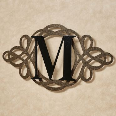 Avley Monogram Wall Art Sign