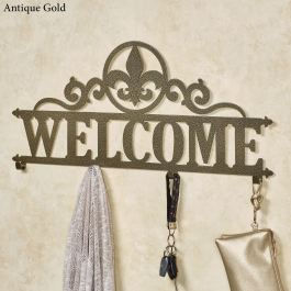 Occasions Fleur Personalized Wall Hook Rack