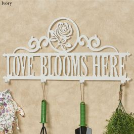 Occasions Rose Personalized Wall Hook Rack
