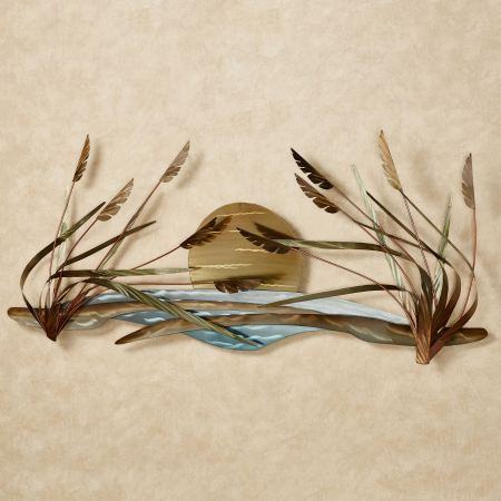 Coastal Breeze Metal Wall Sculpture