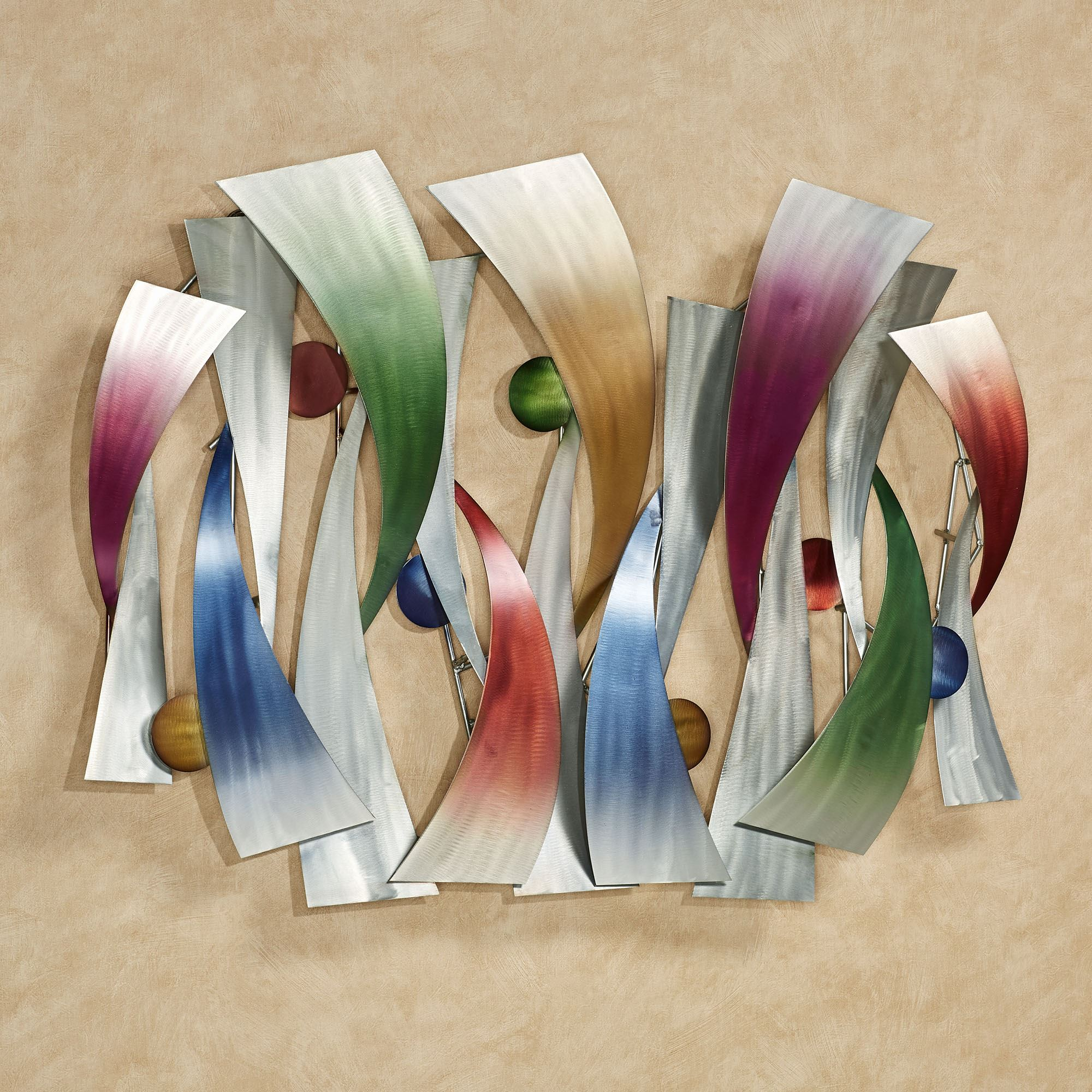 InSync Abstract Metal Wall Sculpture