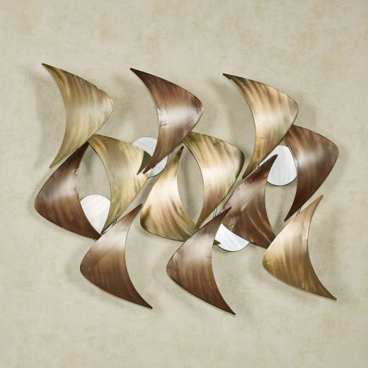 Cadence Abstract Metal Wall Sculpture