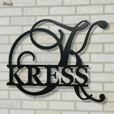 Accord Personalized Metal Wall Art Sign