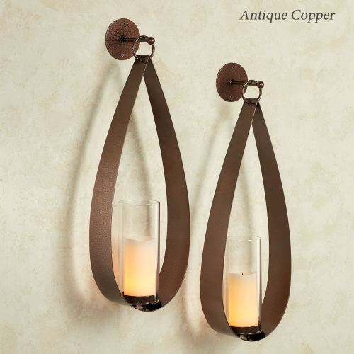 Pharos Teardrop Wall Sconce Pair